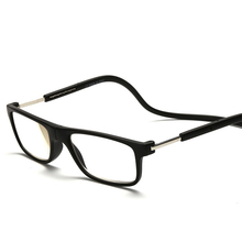 Fashion Magnetic Glasses can hung around the neck Front magnet Connect Reading Glasses Brand Design Diopter Reading eyeglasses(China)