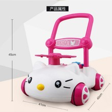 very lovely cartoon baby walker Multifunction early education learning walking toy good quality gift for kids