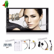 Quad Core Universal 2 din Android Car DVD player GPS+Wifi+Bluetooth+Radio ROM 16G +Capacitive Touch Screen+3G+car pc+audio