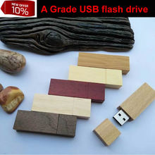 Customized LOGO: 16GB Wood Bamboo usb flash drive 32gb fork micro sd card with free shipping(Hong Kong)