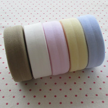 10 meters mixed color 2 cm elastic packet sideband diy cloth seam binding Clothing accessories wholesale 2M/color, 5colors.