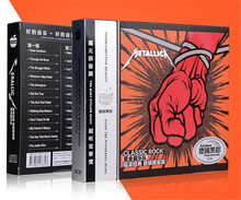Free Shipping: METALLICA Music Europe and the United States Classic Rock Car 3CD Seal(China)
