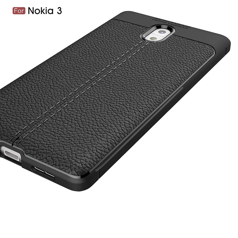 litchi silicone case nokia 3 (4)