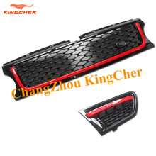 Value!! 2 pieces Side Grille and 1 piece Front Grille ABS FOR Land Rover Range Rover Sport 2010 2011 2012