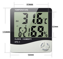 Manufacturer Large HTC-1 In out Thermometer Hygrometer/Home/hospital/pet/aquarium electronic digital temperature humidity meter