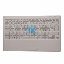 New Original VGP-WKB16 Dutch Keyboard for SONY Laptop Wireless Keyboard White / Black Color