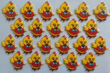 Cartoon chicken Transfer food chocolate chocolate transfer paper transfer sheet birthday cake baking mold