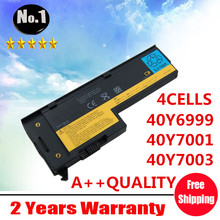 Wholesale  4cells laptop battery FOR ThinkPad  x60 x61 X60s X61s  40Y6999 40Y7001 40Y7003 ASM92P1170  ASM92P1174
