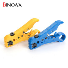 Binoax UTP Coax Cable Cutter Wire Stripper Stripping Tool for RG6 RG59 RG7 TV Satellite(China)
