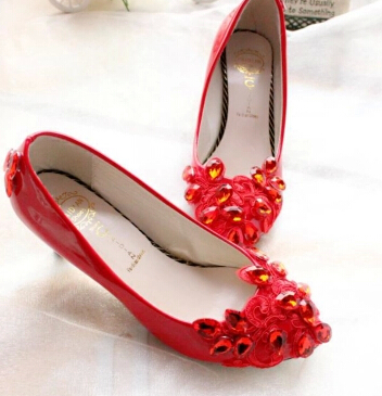 Middle heel 4.5cm heeled fashion red pumps shoes for women, TG031 red rhinestone lace bridal shoe, lady girls party pump shoe<br><br>Aliexpress