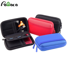 Electronic Product Storage Bags Anti-Shock Portable Digital Accessories Hard Drive Organizer Storage Carrying Case Bag Pouch