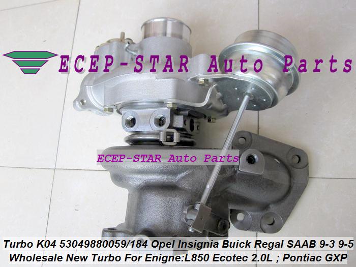 K04 53049880059 53049880184 Opel GT Insignia Pontiac Solstice GXP SAAB 9-3 9-5 L850 (4)