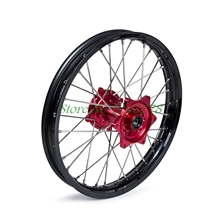 "Motorcycle 19x1.85"" Rear Wheel Rim Hub Set For Honda CR125R/150R 2002-2007 CRF250X CRF450X 2005-2015 CRF250R 04-13 450R 02-12"