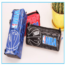 2017 Estojo Escolar The Latest Male High-capacity Denim Boy Students Multi-functional Pencil Box Office Pen Boxes Fine School(China)