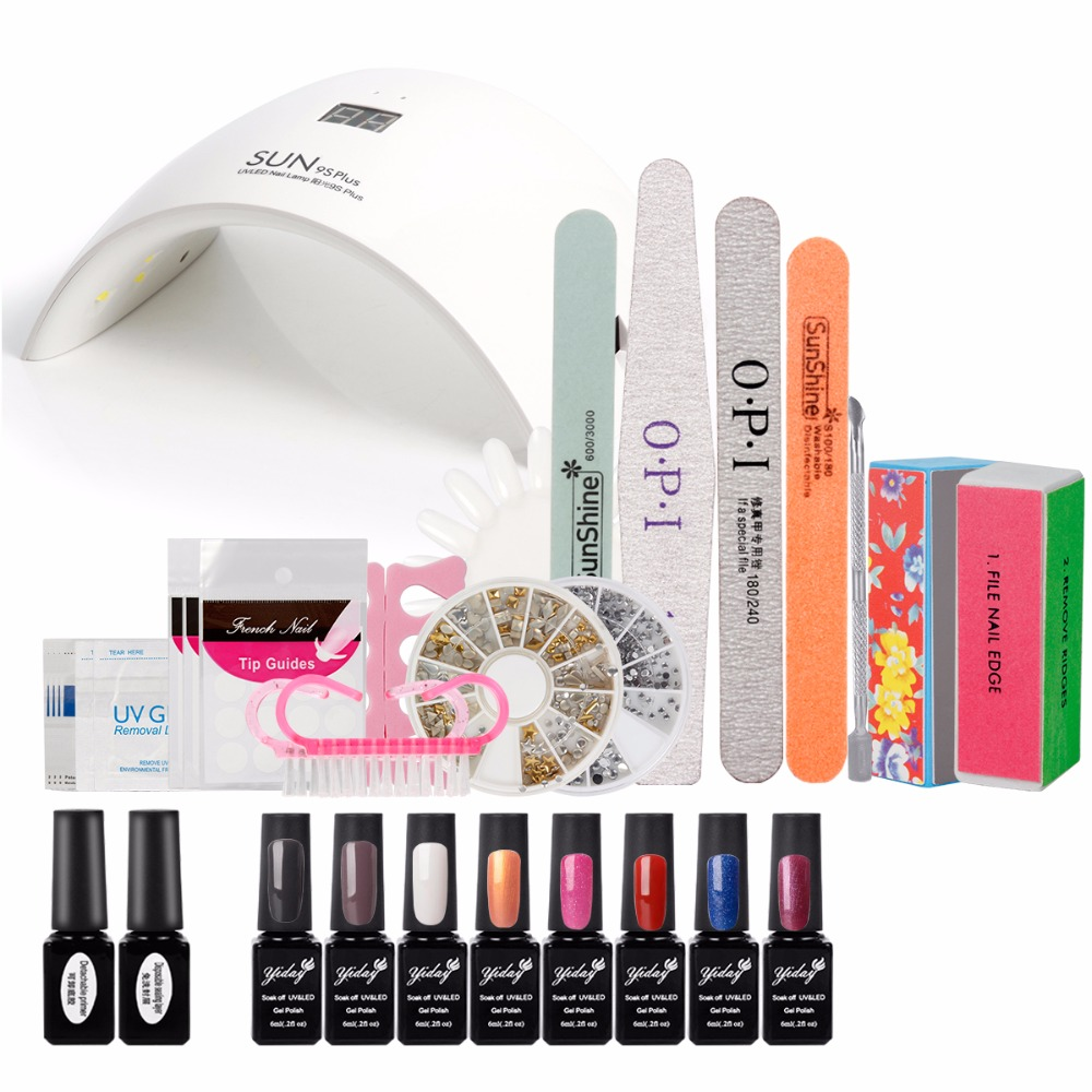 Hot Sale Nail Dryer 36W SUN 9S Plus UV Lamp Time Display Button Sensor Led Lamp for Nails Gel Polish Curing Nails Nail Art Tool<br><br>Aliexpress