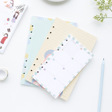 Jamie Notes Creative Filler Paper For Filofax Dokibook Notebook Spiral Planner Personal Organizer A5a6 Color Paper Stationery