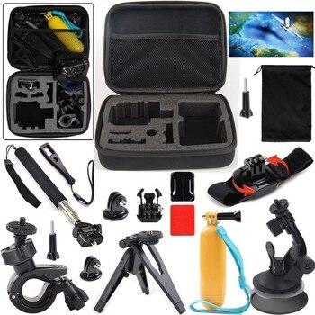Action sports cámara kit de accesorios para soocoo/sjcam/gopro cámara de la acción
