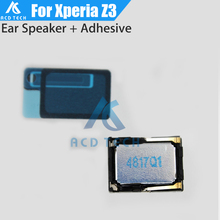 Original For Sony Xperia Z3 D6603 D6653 D6633 Dual Top Ear Speaker Earpiece Headset Buzzer With Waterproof Adhesive Sticker(China)