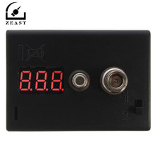 LED Resistance Tester OHM meter ohm reader for heating Coil Wire DIY Tool E Cigarette 510 RDA vaporizer atomizer Coil Tester(China)