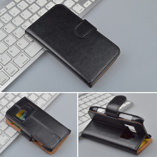 Crazy Horse Wallet Leather Case For Nokia N8 Flip Cover with Stand and Bank Card Holder 4 Colors Available
