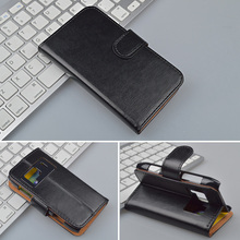 Crazy Horse Wallet Leather Case For Nokia N8 Flip Cover with Stand and Bank Card Holder 4 Colors Available(China)