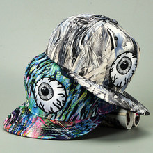 2016 New Summer Swag Colorful Big Eyes Monster Snapback for Men Women Bone Baseball Caps Hip Hop Sun Hat Casquette Chapeu Bonnet