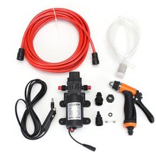 Different Quality 6Pcs Car 100W DC 12V Portable High Pressure Washer Pump 6L/min(China)