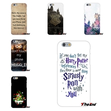 Luxury Unique Harry Potter Print Soft Silicone Cell Phone Cases Covers For Huawei G7 G8 P7 P8 P9 Lite Honor 4C Mate 7 8 Y5II