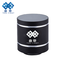 Portable Bluetooth Speaker Wireless Stereo Vibro Speakers Metal Resonance Mini Subwoofer Loudspeaker For Mobile Phone iPhone PC(China)