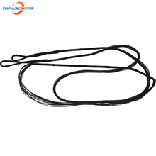 Replacement Black Bow String for Traditional Recurve Bow Longbow Hunting Shooting Accessories Length 43.7''-68'' (111cm-173cm)