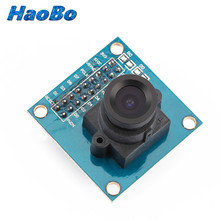 OV7670 VGA Camera Module Lens CMOS 640X480 SCCB w/ I2C Interface Auto Exposure Control Display Active For Arduino