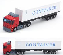 Hot Sale 1:48 Alloy Truck Toys Metal Model Car Diecast Cars 1/48 City Vehicle Model Toys For Children SCANIA Brinquedos