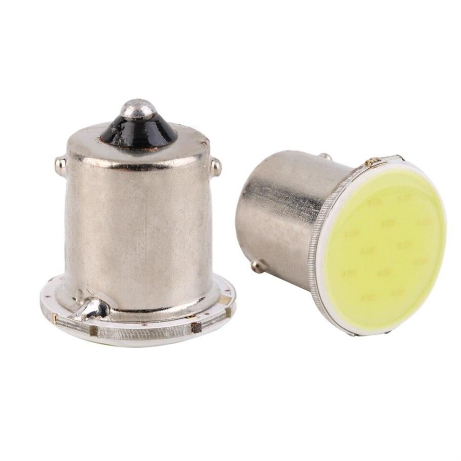 2pcs super White 1156 COB LED parking Reverse Backup Light car Lamp Bulb DC 12V<br><br>Aliexpress
