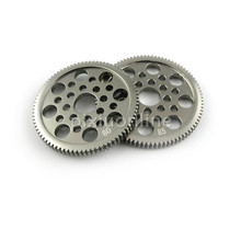 1pc J167 80/85T Delicate Aluminum Alloy Gear 0.5 module for DIY Model Making Free Shipping Russia