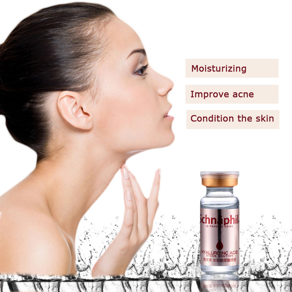 Whitening treatment as is indicated by comparison to the whitening - Hyaluronic Acid Serum Face Cream Treatment Face Care Skin Whitening Cream Acne Pimples Anti Winkles Moisturizing