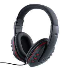 3.5mm Gaming Headset  wired Adjustable Headband volume  with Microphone HI-FI Headphone Noise canceling for PS4 PC Cell phone