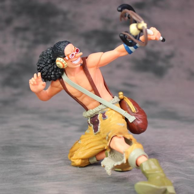 XINDUPLAN One Piece Anime God Usopp Onepiece Portrait Modeling New World Action Figure Toys 14cm PVC Kids Collection Model 1000<br>