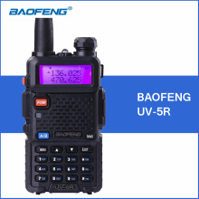 BAOFENG UV-5R Portable Walkie Talkie 5W VHF UHF Two Way Ham Radio Transceiver Handheld UV5R Baofeng Walkie Talkie Communicator