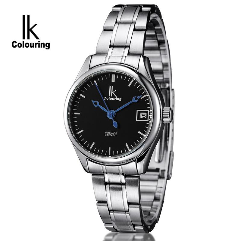 IK 2017 Casual Mens Women Orologio Uomo Day Horloge Auto Lovers Mechanical Wristwatch Original Box Free Ship<br>