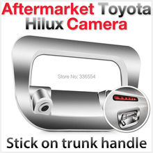 for Toyota Hilux Reverse Rear View tailgate Parking Backup Camera Trunk Handle Chrome Cover(China)