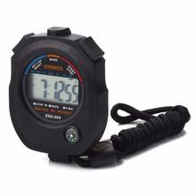 2017# Waterproof Digital LCD Stopwatch Chronograph Timer Counter Sports Alarm Free Shipping & Wholesale