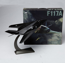 Brand New 1/48 Scale F-117 Stealth Attack Aircraft Plane Model Toy Diecast Metal Fighter Model Toy For Adult Gift Collection