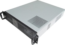 19-inch rack server Computer case 2U550mm industrial Chassis Support pc power supply ATX motherboard pci slot(China)