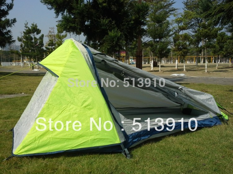 Single person top quality high-grade double layer aluminum pole mountain tent/camping tent<br><br>Aliexpress