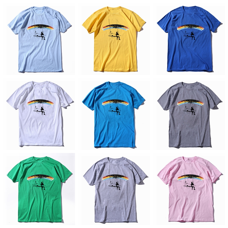 COOLMIND 100% cotton short sleeve funny men T shirt casual cool summer men Tshirt o-neck loose men t-shirt mens tee shirts