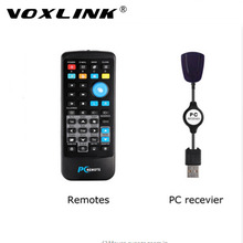 VOXLINK Wireless IR Remote PC Computer Controller USB Media Center Fly Mouse with USB Receiver For Windows 7 XP VISTA Hot(China)