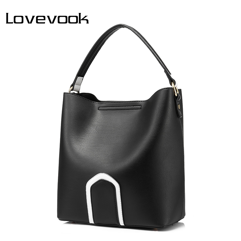 LOVEVOOK women handbag high quality PU female shoulder crossbody bag retro messenger bags for women 2017 tote famous brands<br>