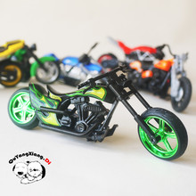 HW 1:64 Motorcycle Model Series Original Alloy car Harley Du cati kids toys Loose Brand New In Stock Toys for Children(China)