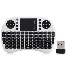 M2S Mini Wireless Keyboard 2.4GHz Fly Air Mouse Keyboard Smart Remote Control Touchpad For Android TV Box Tablet PC Russian Ver