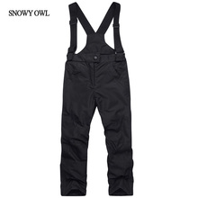 2017 Kids Ski Pants Waterproof Children Snowboard Pants Boys and Girls Skis Trousers Winter Children Skiing Pants h60(China)